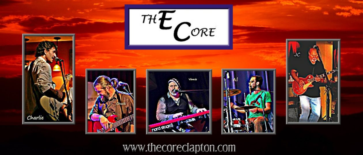"THE ~ CORE  –  ""The Eric Clapton Tribute Band"""